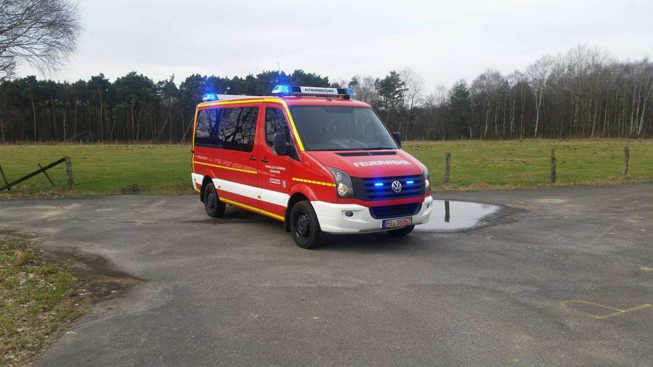MTW Feuerwehr Altwarmbüchen