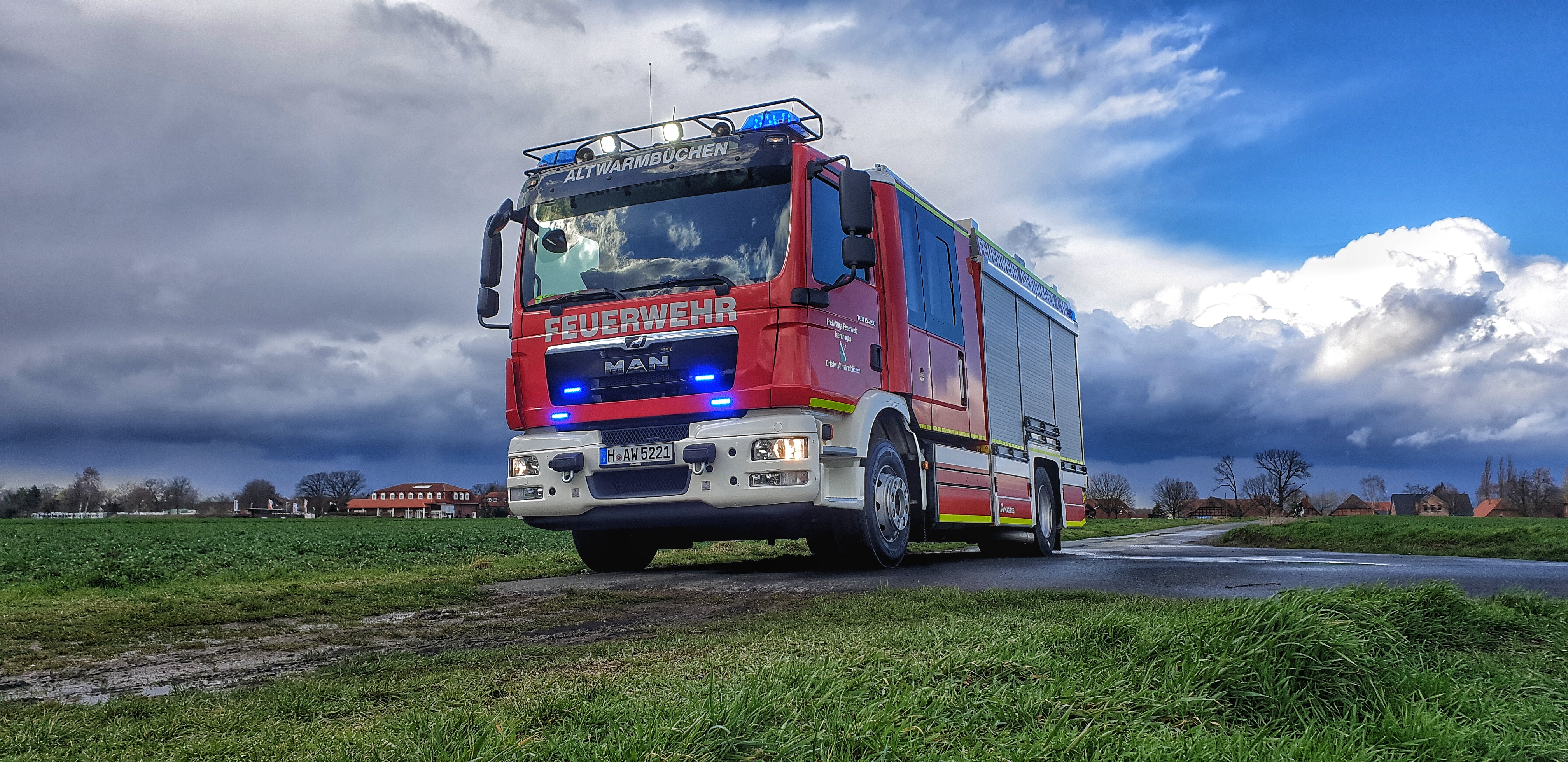 HLF20 Feuerwehr Altwarmbüchen