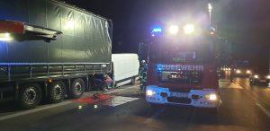 Verkehrsunfall BAB7 Kreuz Hannover-Ost