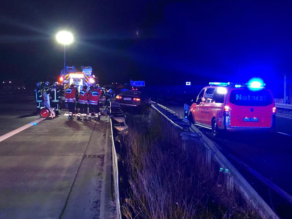 Verkehrsunfall BAB7 Altwarmbüchen